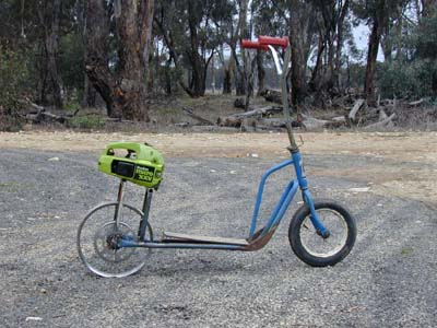 Images of Motorized Scooter Homemade