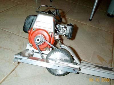 HOS builds a gas <b>scooter</b> death machine - Pirate4x4